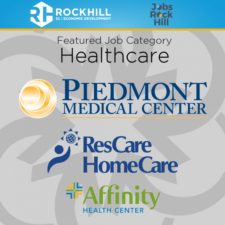 healthcare jobs in rock hill